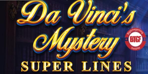 DA VINCI'S MYSTERY SUPER LINES SLOT FREE PLAY