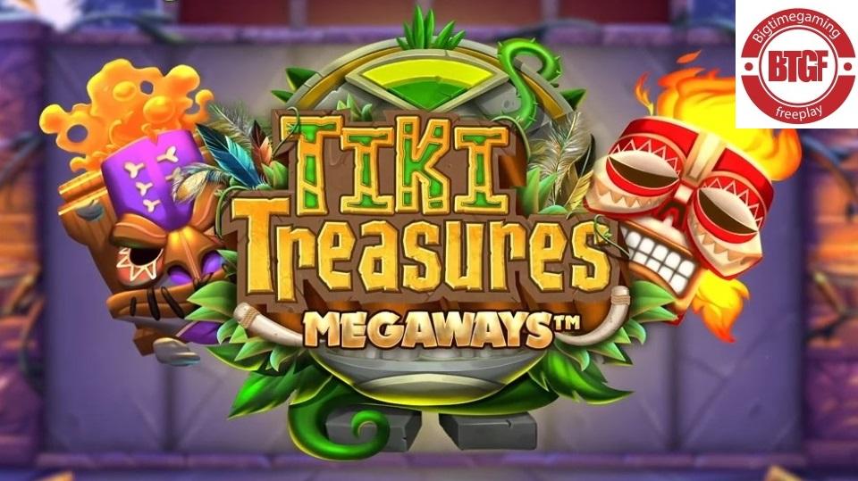 TIKI TREASURES MEGAWAYS™ SLOT FREE PLAY AND REVIEW