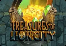 TREASURES OF LION CITY SLOT DEMO