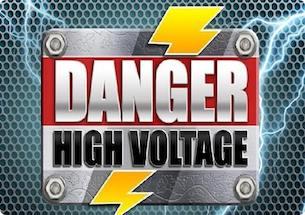 DANGER HIGH VOLTAGE DEMO SLOT