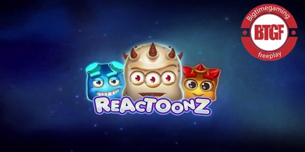 REACTOONZ SLOT FREE PLAY