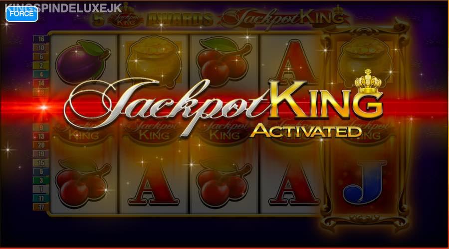 KING SPIN DELUXE SLOT FEATURES THE JACKPOT KING PROGRESSIVE BONUS