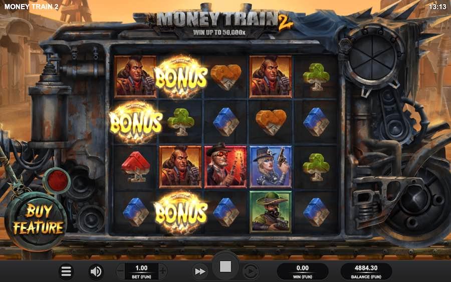 Money Train 2 Demo Free Play - Slot Review
