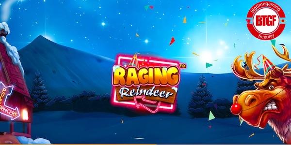 RAGING REINDEER SLOT FREE PLAY