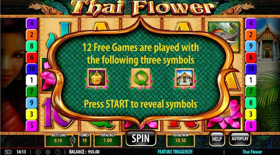 Play thai flower slots free