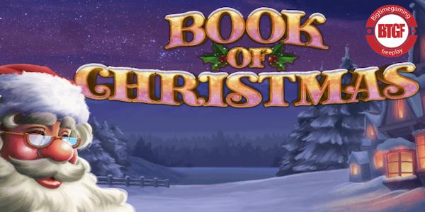 BOOK OF CHRISTMAS SLOT FREE PLAY
